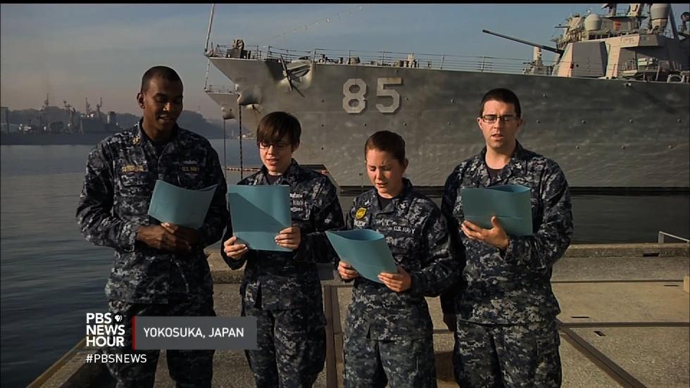 Holiday music from U.S. military around the world image