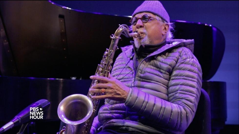 Jazz saxophonist Charles Lloyd on musical intoxication image