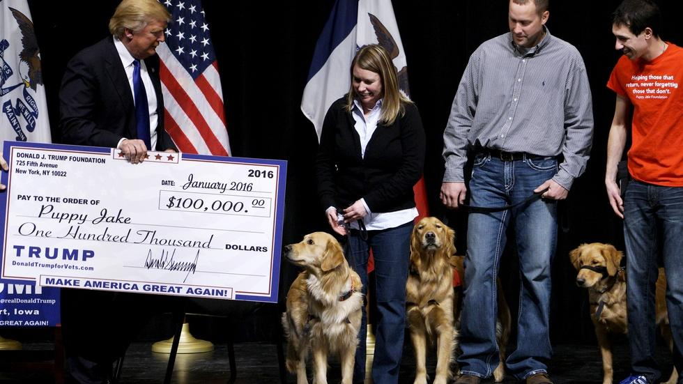 What we know--and don't--about Trump's charitable foundation image