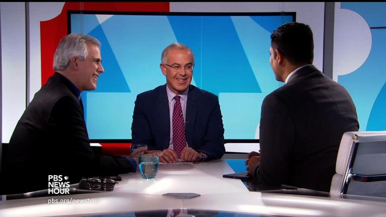 PBS NewsHour: Brooks and Corn on whether this is now a 'bad transition'