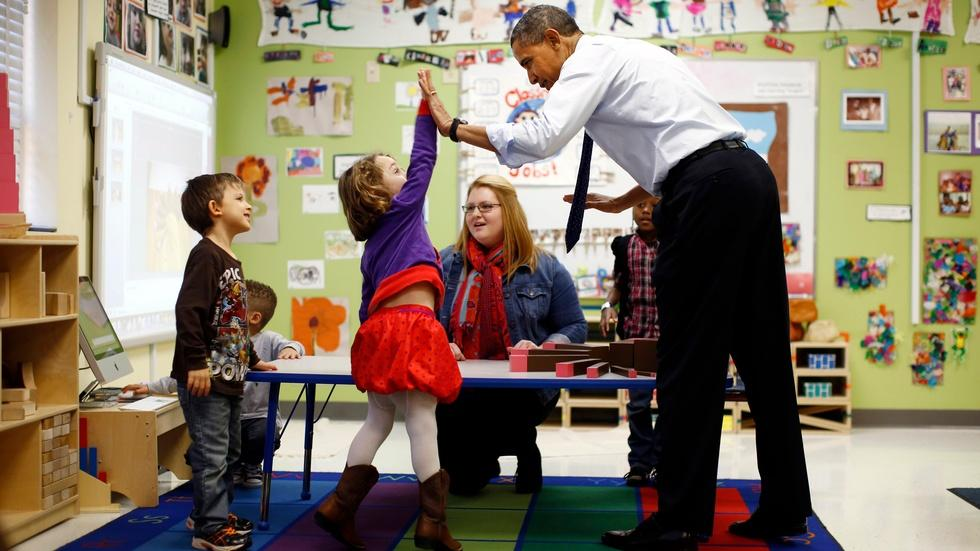 What will be Obama's lasting education legacy? image