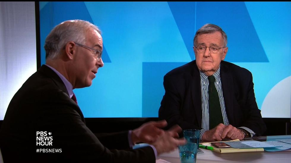Shields and Brooks on Russian hacking, Trump's response image