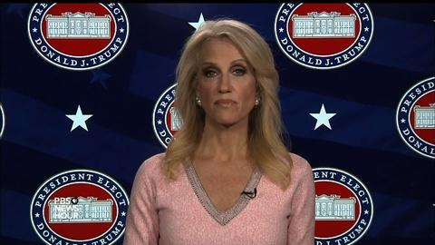 PBS NewsHour -- Conway: 'No reason to delay hearings' over nominee paperwork