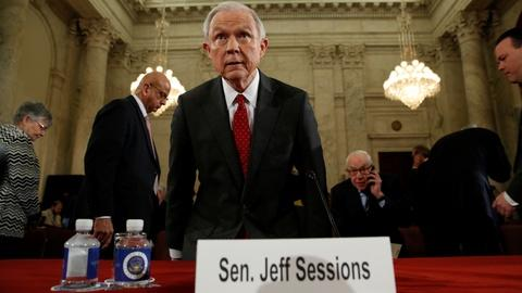 PBS NewsHour -- In hearing, Sessions says he'll put law above his own views
