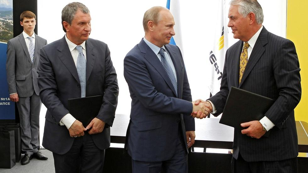 Tillerson says U.S., Russia can have warmer relationship image