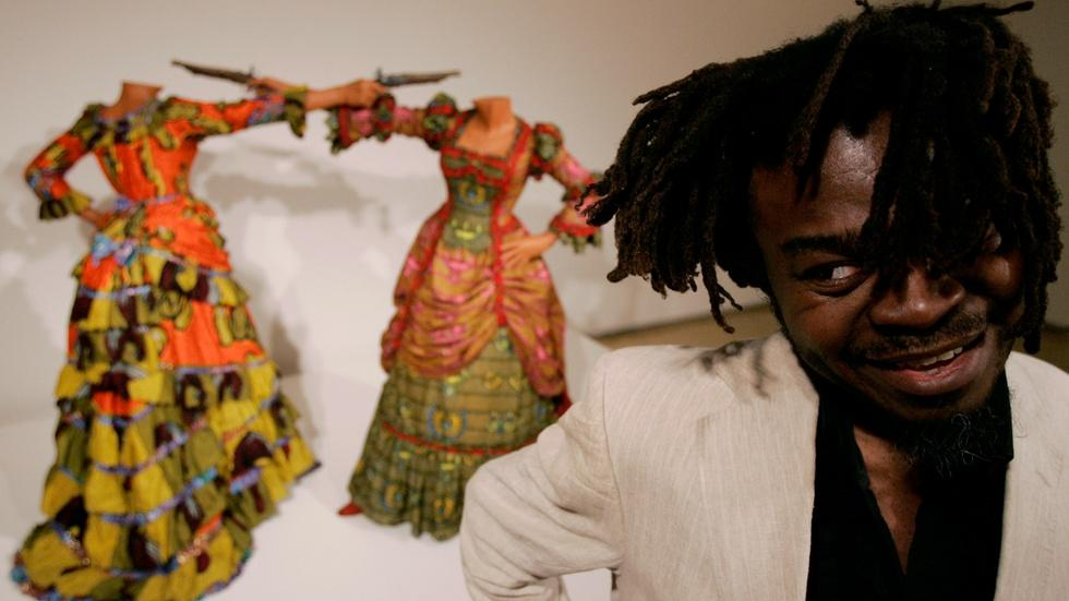 Depicting globalization through art 'full of contradiction' image