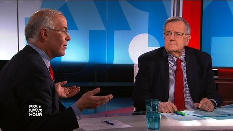PBS NewsHour -- Shields and Brooks on Russian intrigue in American politics