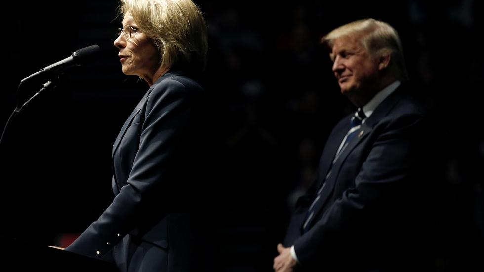 What will DeVos' focus on choice mean for public education? image