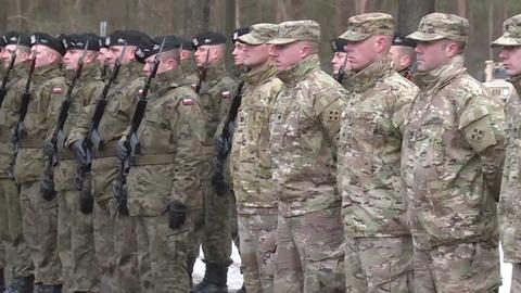 PBS NewsHour -- U.S. NATO troops surge in Europe after Russian aggression