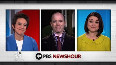 PBS NewsHour -- Do Americans care about Trump's feud with the press?