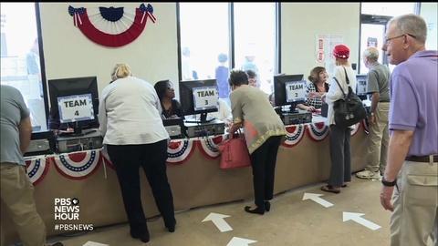 PBS NewsHour -- Will Trump talk of voter fraud threaten voter rights?