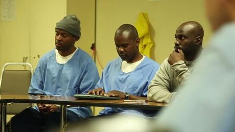 PBS NewsHour -- Men who grew up in prison find the strength to be vulnerable
