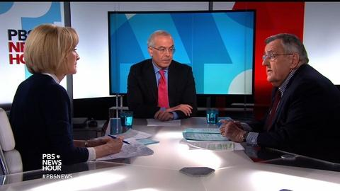 PBS NewsHour -- Shields and Brooks on Trump's first week