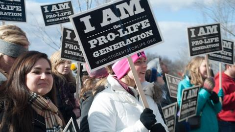 PBS NewsHour -- Anti-abortion activists welcome Trump administration support