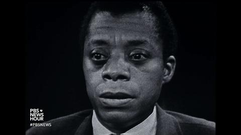 PBS NewsHour -- New film brings prophecy of James Baldwin into today's world