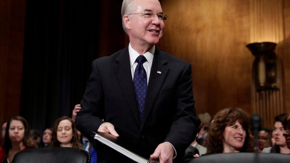 As HHS secretary, Tom Price has significant powers image