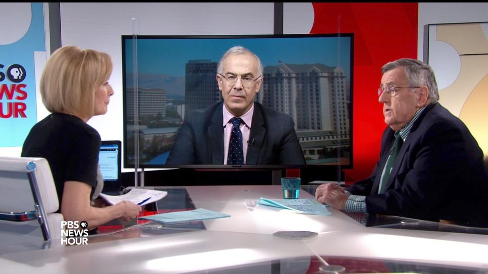 Shields and Brooks on Trump using the press as punching bag image