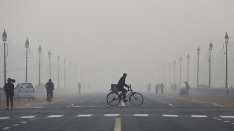 PBS NewsHour -- Fighting to breathe in the world's most polluted city