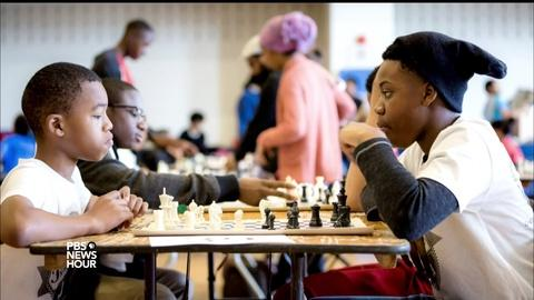 PBS NewsHour -- How a simple game of chess can break through stereotypes
