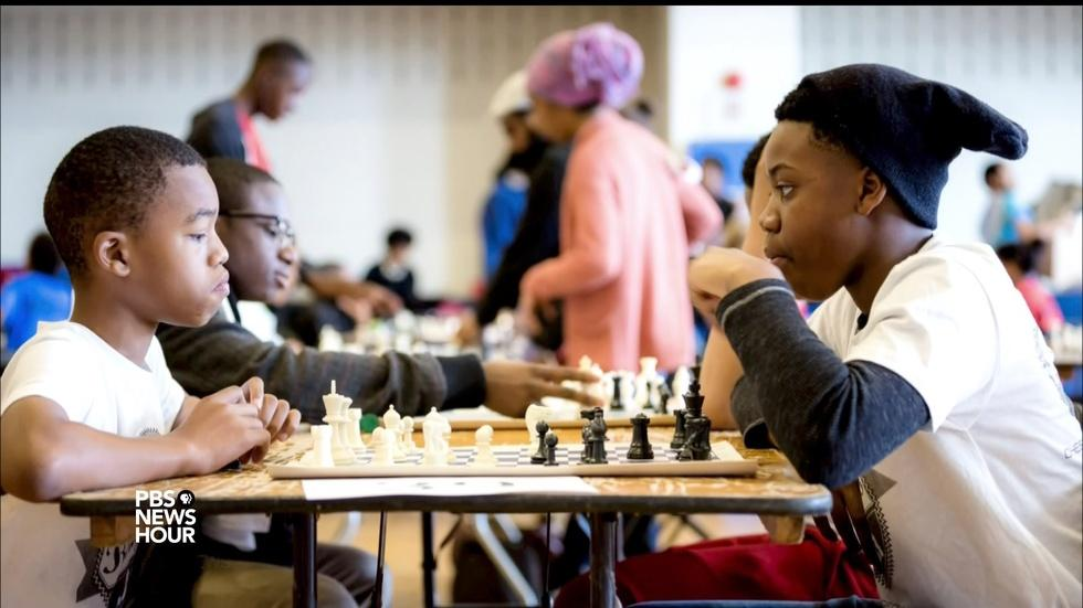 How a simple game of chess can break through stereotypes image