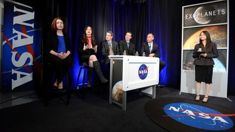 PBS NewsHour -- Hunt for alien life zooms in on new solar system