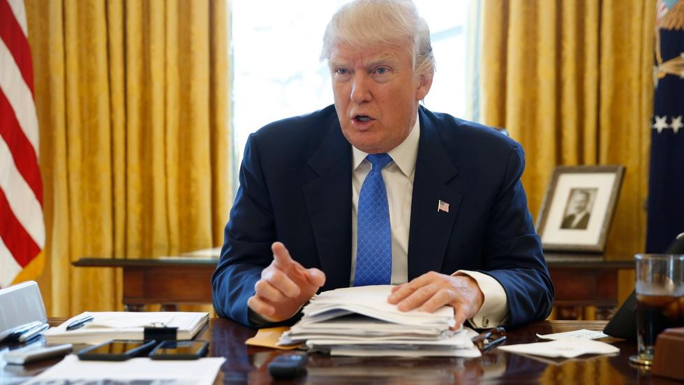 News Wrap: Trump says he wants to boost U.S. nuclear arsenal image