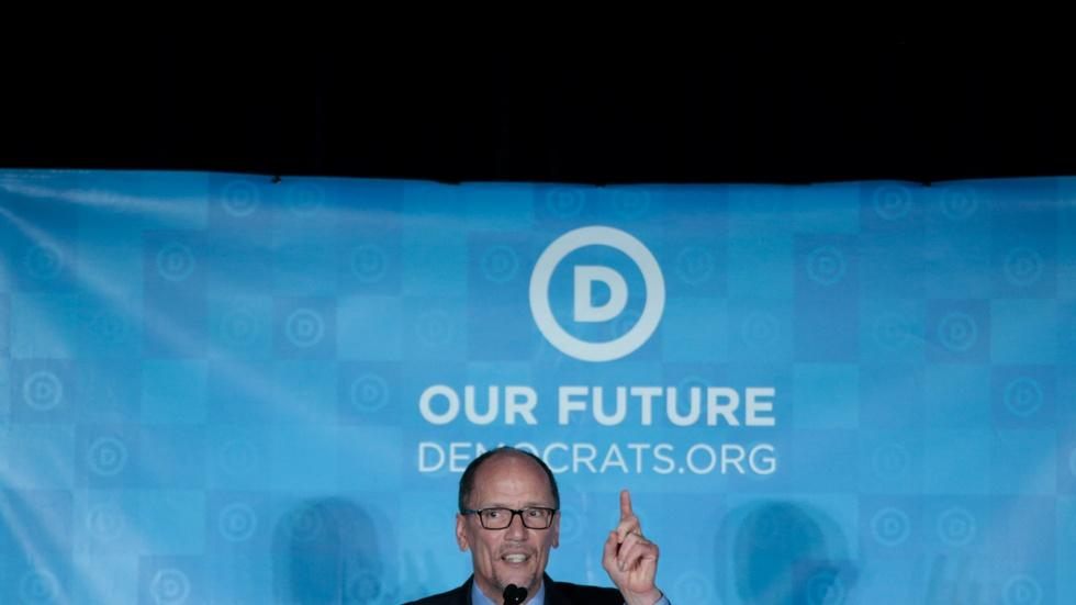 Democrats select Perez as new party chair image