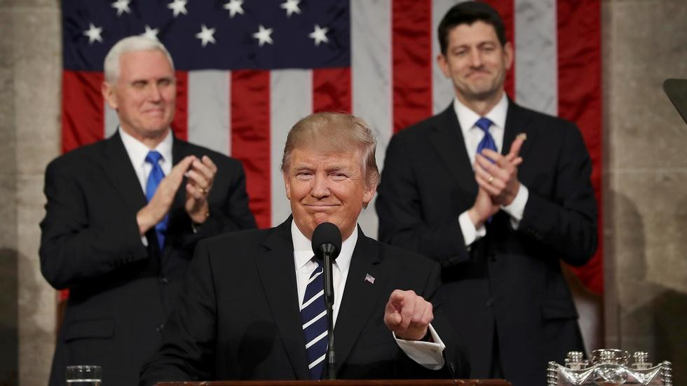 Watch Trump's address to Congress in 7 minutes image
