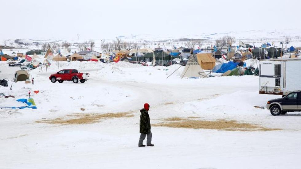 Despite protests, Dakota Access Pipeline nears completion image