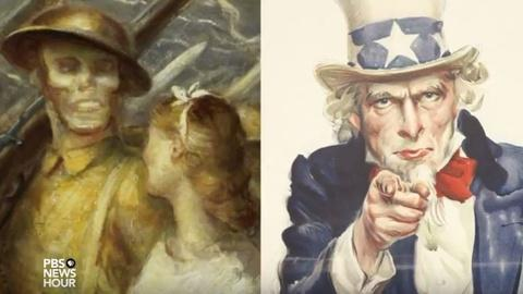 PBS NewsHour -- How American artists captured the Great War up close