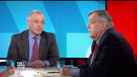 PBS NewsHour -- Shields and Brooks on Russia investigation questions