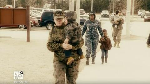 PBS NewsHour -- Quality child care gives military families peace of mind
