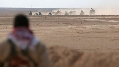 PBS NewsHour -- U.S. forces in Syria to fight ISIS face chaotic map