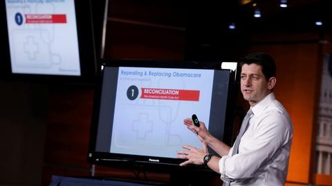 PBS NewsHour -- House GOP drives health care bill through committees