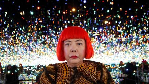PBS NewsHour -- Need to escape reality? Step into infinity with Yayoi Kusama