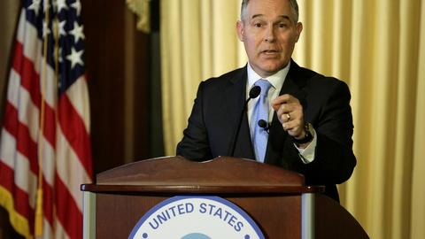 PBS NewsHour -- Pruitt dismisses climate science, environmental policy