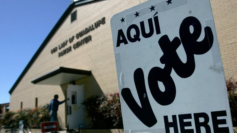 Texas gerrymandering discriminates against Hispanics image