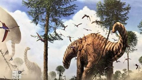 PBS NewsHour -- This artist brings dinosaurs back to life