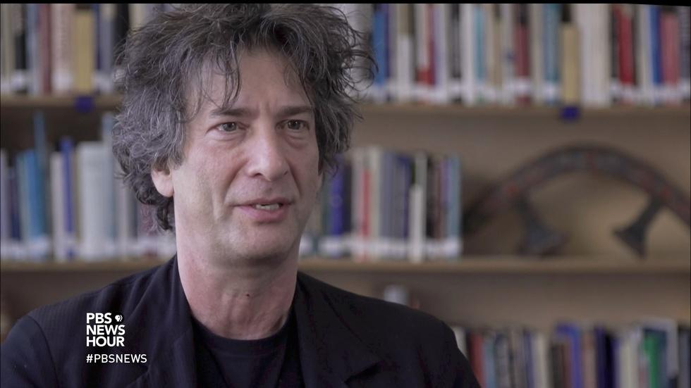 From Neil Gaiman, tales of Thor and Odin for modern ears image