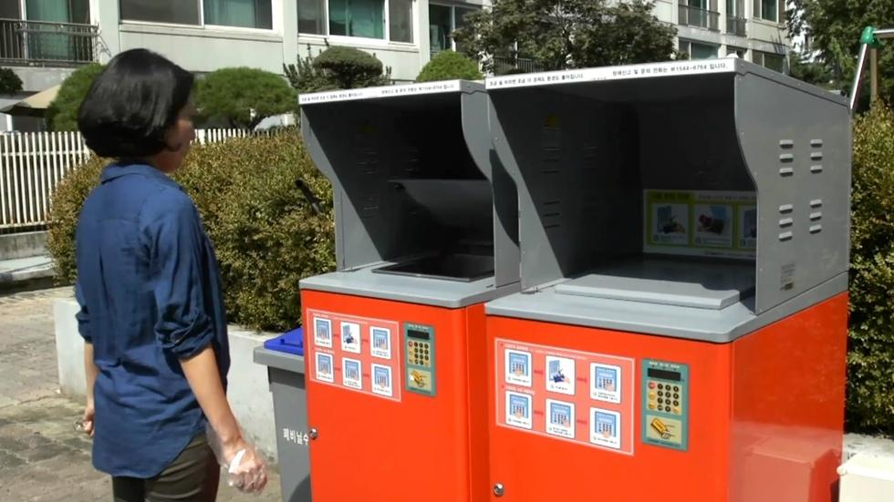 These policies helped South Korea decrease food waste image