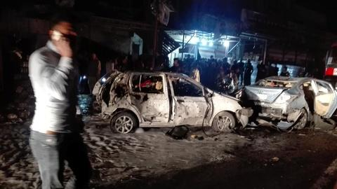 PBS NewsHour -- News Wrap: Deadly suicide car bomb explodes in Baghdad
