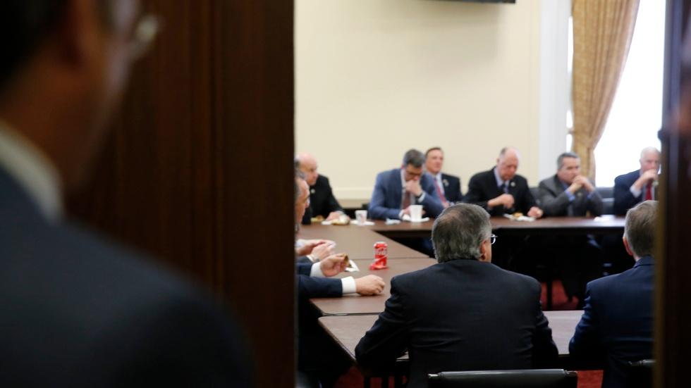 Failing to close deal on health care, House GOP delays vote image