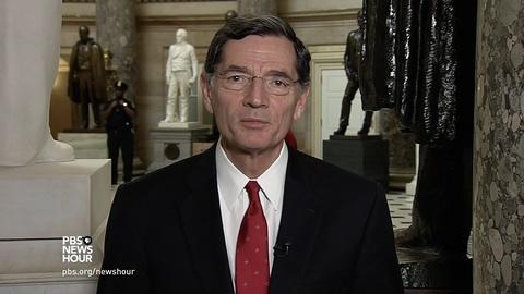 PBS NewsHour -- Barrasso: Climate rollback helps U.S. as energy superpower