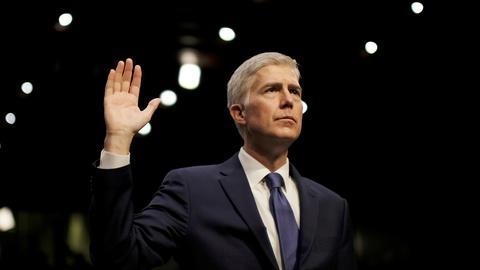 PBS NewsHour -- Senate debates Gorsuch, heading into face-off