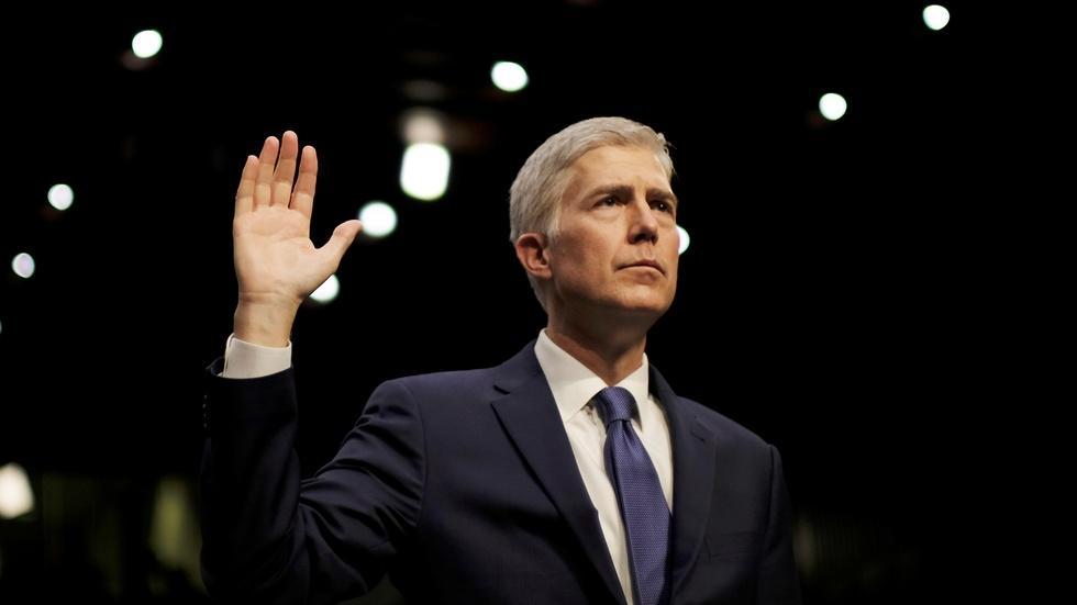 Senate debates Gorsuch, heading into face-off image