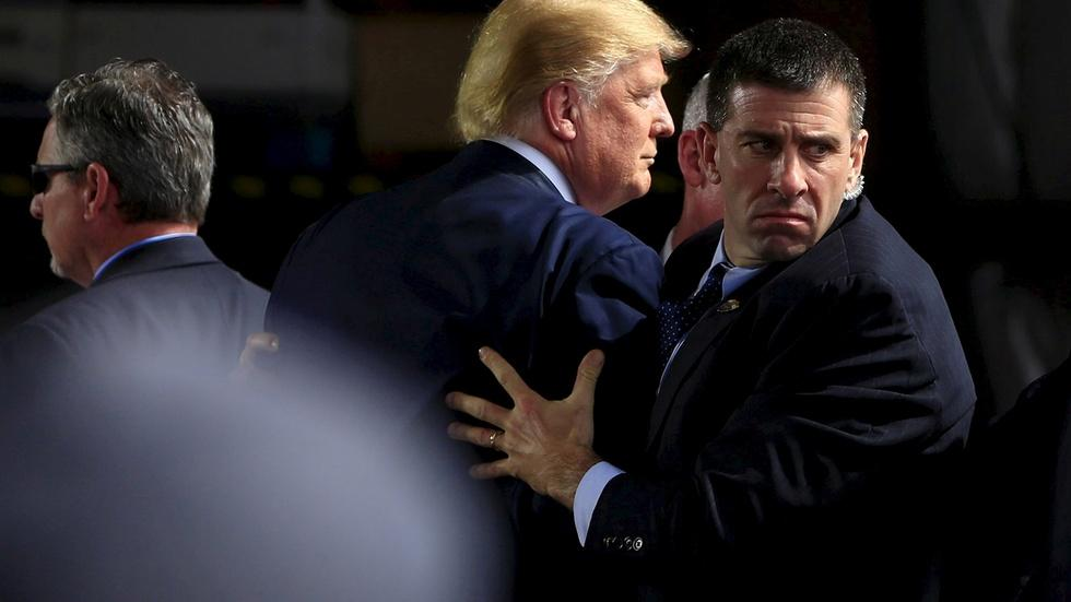 Is the Secret Service strained by Trump protection demands? image