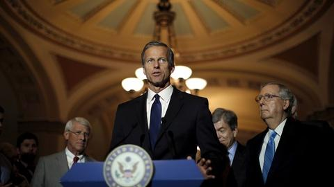 PBS NewsHour -- Thune: Republicans had no choice but to change Senate rules