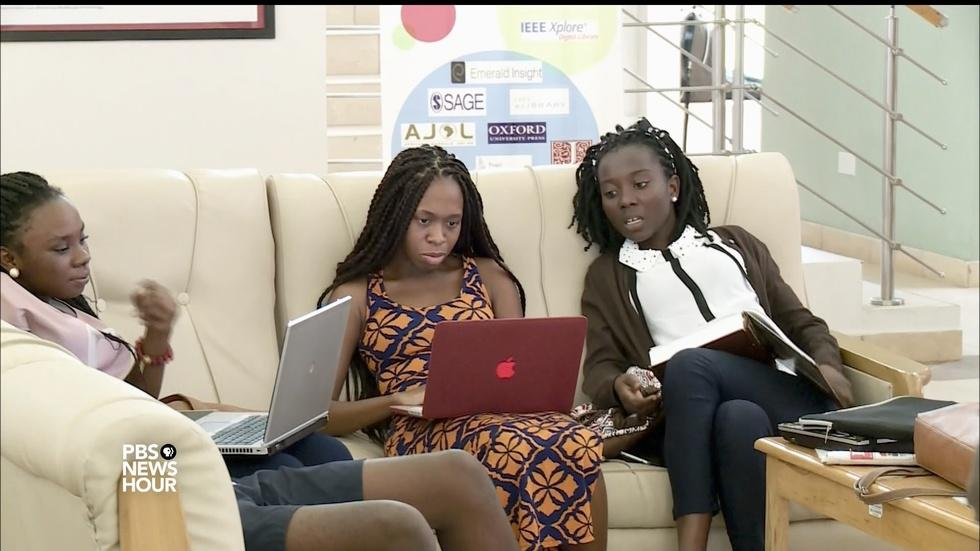 University in Ghana teaches students to resist corruption image