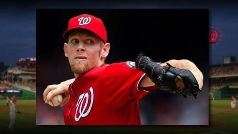 PBS NewsHour -- Washington Nationals' Star Pitcher Stephen Strasburg Benched