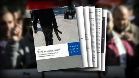 PBS NewsHour -- Syria's Alleged Human Rights Violations Push World...